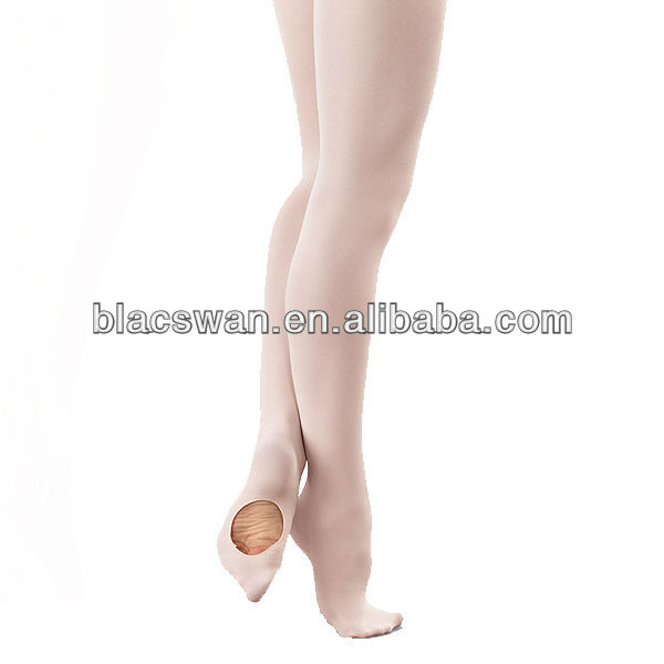 Adult convertible tights wholesale dance tights ballet tights