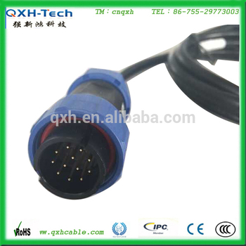 Auto Waterproof Wire Harness 9 Pin Aviation_350x350 9 pin wiring harness connectors automotive wiring diagram data
