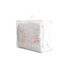 The rope handle quilt bag transparent PVC plastic zipper bag