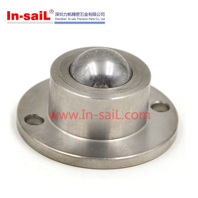 China supplier global service stainless steel spring loaded ball transfer unit manufacturer