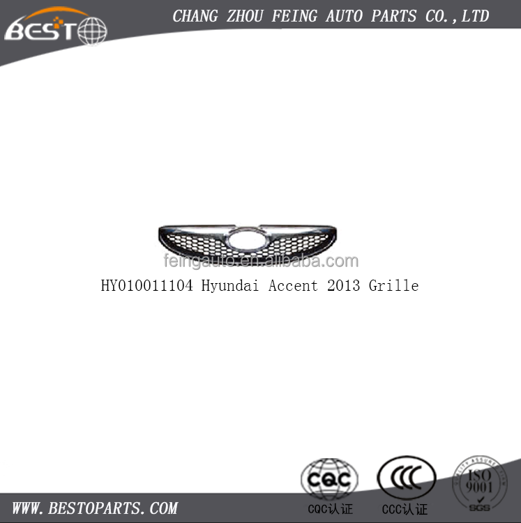 Grille for Hyundai Accent 2013 auto body parts