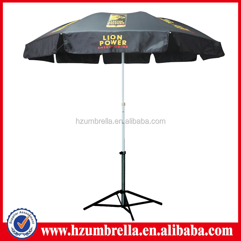 Lion Energy Drink Promotional Beach Umbrella Parasol,Patio Umbrella Parts -  Buy Patio Umbrella Parts,Parasol Parts,Energy Drink Promotional Umbrella
