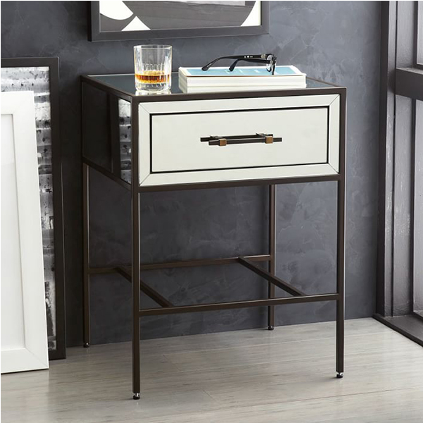 Factory Supply Top Quality Modern Bedroom Furniture Old Wood Nightstand