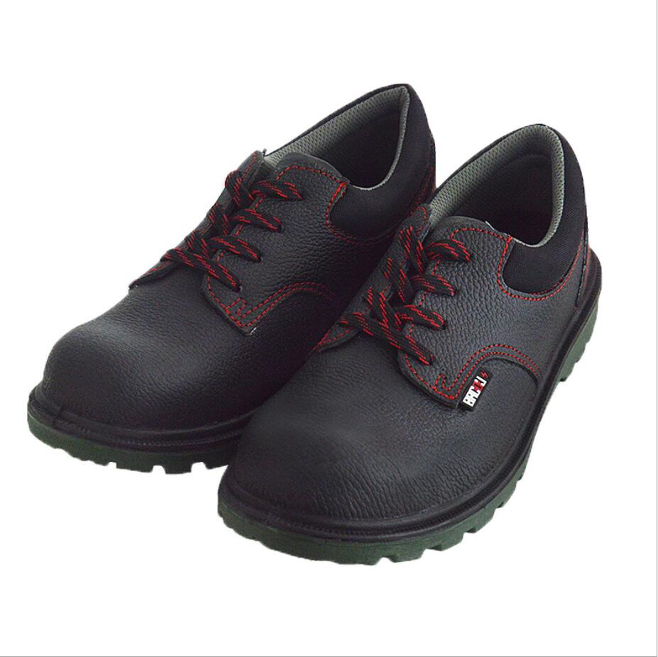 Big brand Anti smash stab resistant 6kV insulated leather protective shoes with steel toes