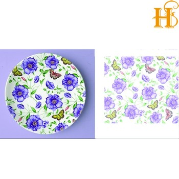 Hs Ceramic Waterslide Decals Transfer Paper For Ceramics Buy Hs