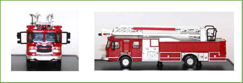 High quality original manufacturer 1:64 scale toy fire model diecast trucks for collection