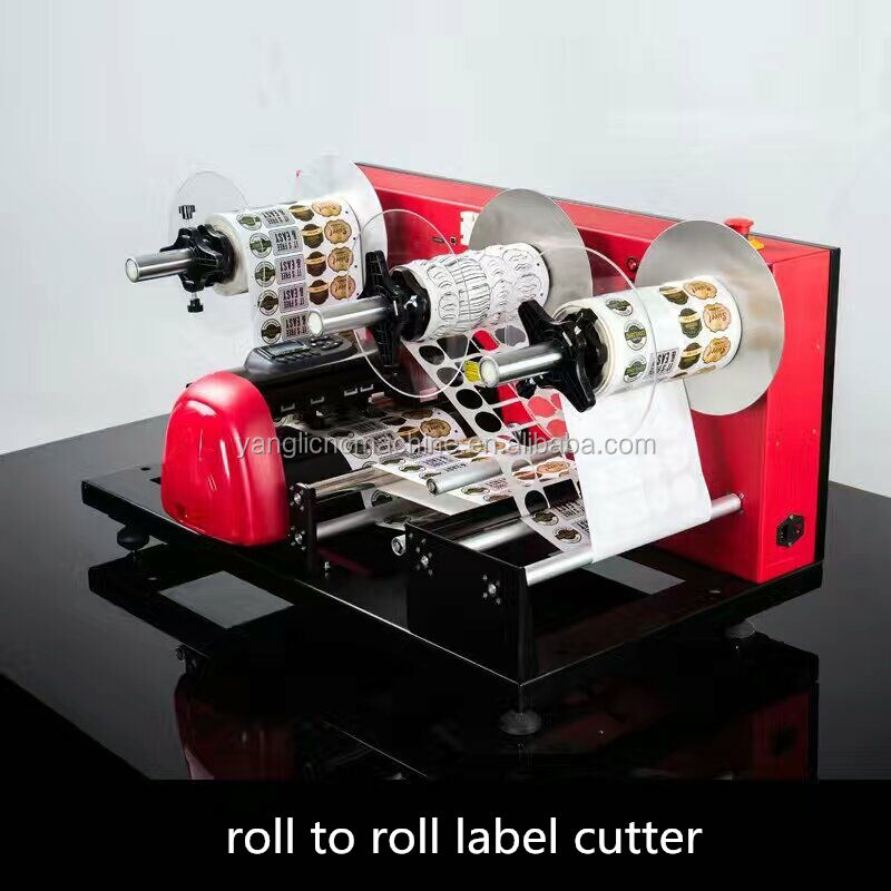 Digital Roll label die cutter (YLCM-001)
