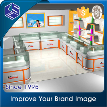 Ksl Retail Mobile Phone Shop Interior Furniture Design Decorative Cell Store