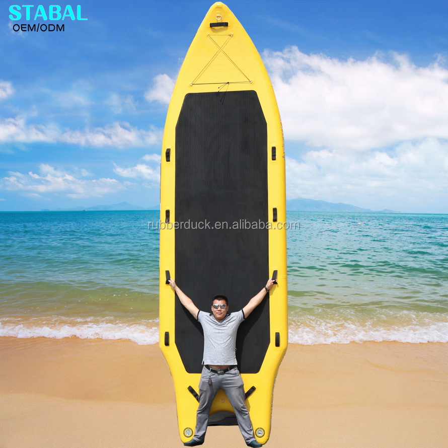 Certificato CE sup gonfiabile grande stand up paddle board in vendita