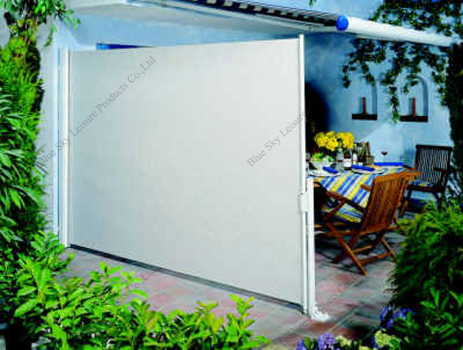 Office Screen Aluminium Frame Retractable Side Awning With High Quality