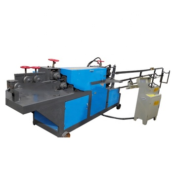 High effective metal straightening machinery