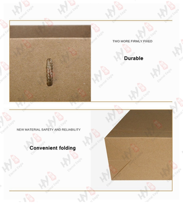 High quality promotional packing kraft paper bag