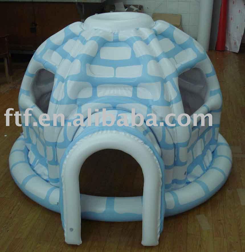 Bien-aimé Inflatable Christmas Igloo, Inflatable Christmas Igloo Suppliers  MK08