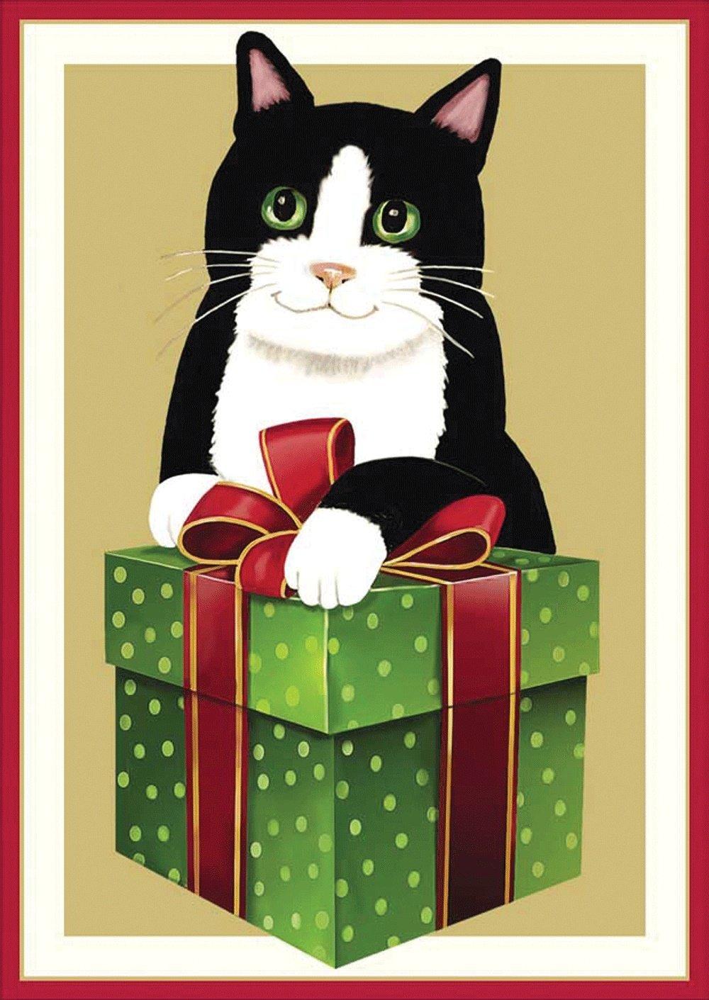 Caspari Christmas Cards.Buy Entertaining With Caspari Christmas Sheep On The Farm
