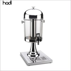 Restaurant equipment supplier commercial juicer dispenser cold drink 8L portable ice beverage juice dispenser