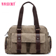 Korean style business type newest pictures promotional soft men canvas fashion handbag made in China