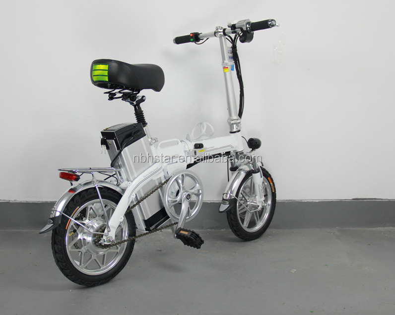 "Electric bike folding/14"" 250w E-bike/mini light e-bike with pedal foldable"