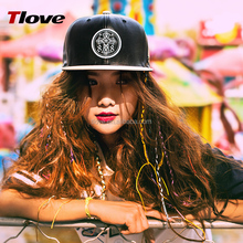 Tlove 2017 good quality colorful custom dad army service hat hip-pop flat bill cap, Camouflage trucker leather sport caps