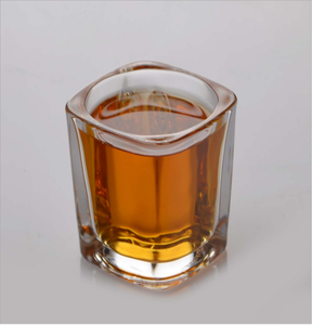 Perfect Whisky Glass or Scotch Glasses Square Shot Glass Cup