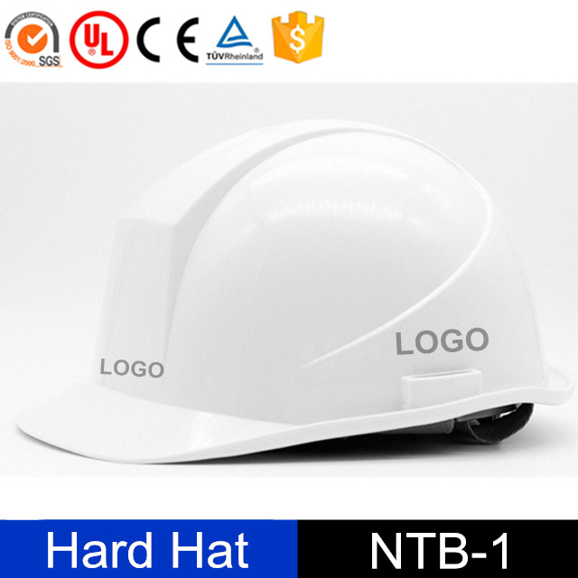 head protection construction blue safety helmet with logo