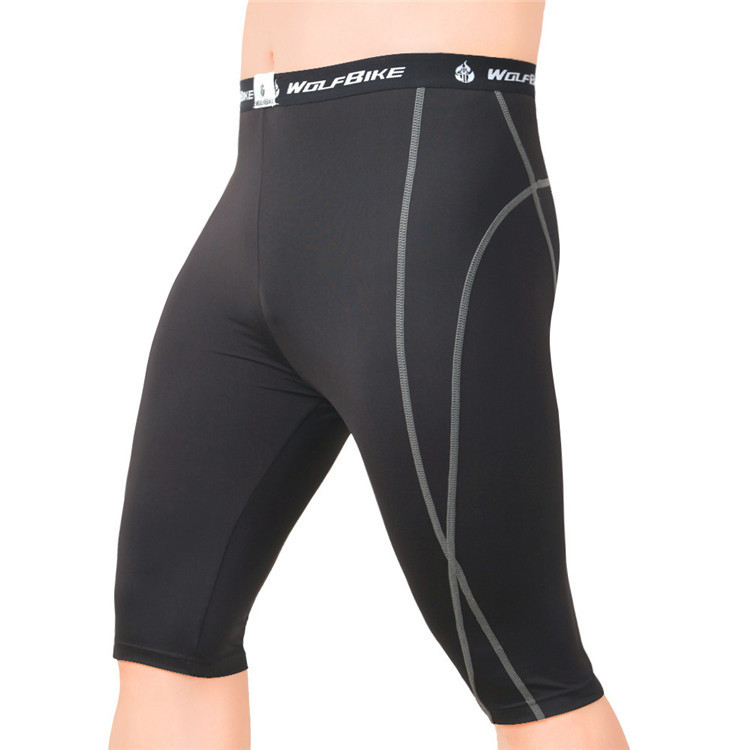 Get Quotations · Unisex Men Women Spandex Tight Long Shorts Outdoor  Exercise Multi Purpose Tight Knee Length Tennis Compression 53688c8f3068