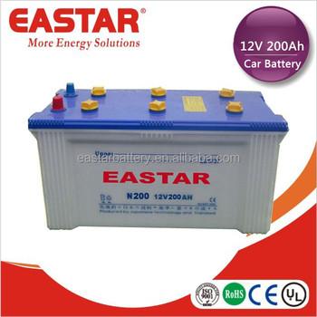 12v 200ah Voiture Batterie De Charge Sèche Batterie De