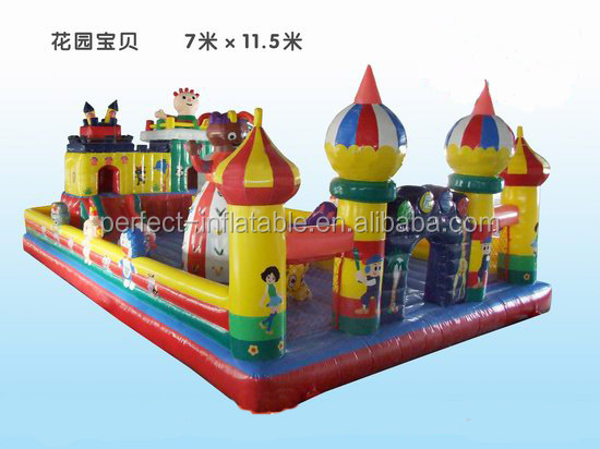 Garden baby inflatable castle amusement park items on sale inflatable park for kids