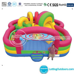 Outdoor Inflatable Obstacle Course adult Sport games