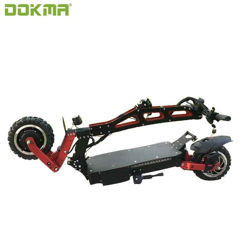 Dokma New Design Dual Motors 60v 3200w electric scooter for adult