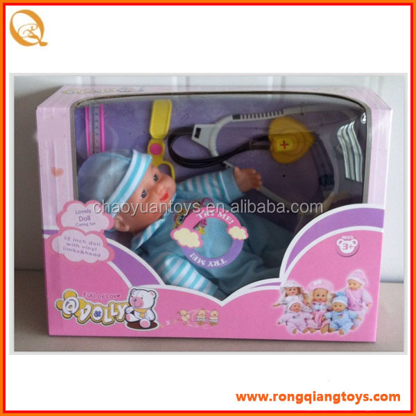 "12"" baby silicone reborn baby dolls for sale feeding bottle with many accessories DO574155504"