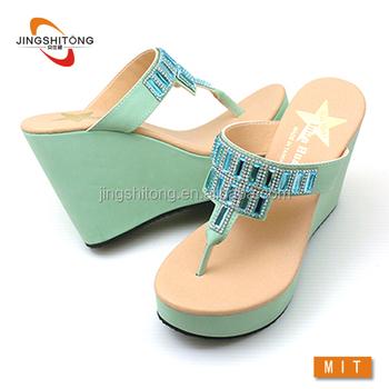 New Design Beautiful Ladies Summer Shoes
