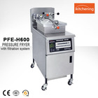 Whole Body Stainless Steel broaster Chicken Pressure Fryer, Deep Turkey Fryer for Fried French Fries