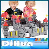 Toy Castle Block Set Plastic Castle Play House