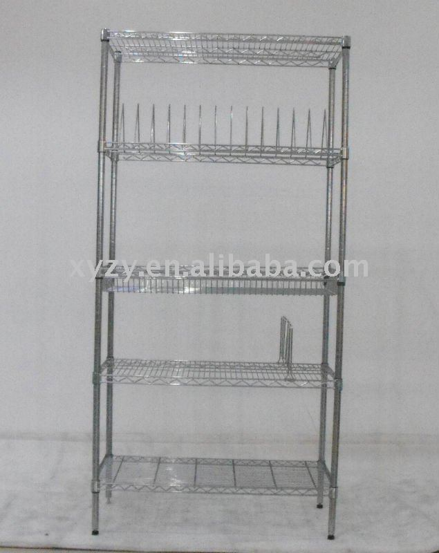 Nsf SMT reef Chrome fil étagères racks