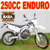 Chinese Motocross Motorcycle 250cc