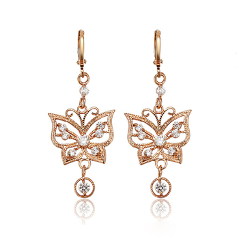 Latest Fashion New Design Gold Jhumka Butterfly Eardrops Buy