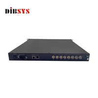 digital tv broadcasting equipment IP tv streaming how to connect ASI digital headend equipment