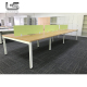 China supplier Tianjin office furniture metal rectangle meeting table with removable baffle