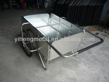 Metal Push Cart / Garden Push Cart / Industrial Push Cart