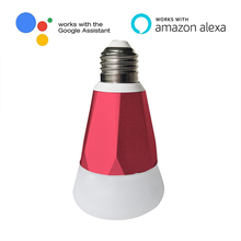 Smart bulb Wifi Controlled Led Colorful Smart Light Bulb E27 RGB LED Bulb Lights multicolor Works with Amazon echo Alexa