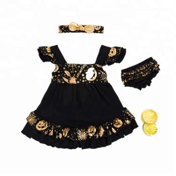Halloween vestido Traje Las Vestido Halloween halloween Buy Niñas De Halloween Unidades 100Algodón 3 Diadema Corto Pp UpSVMz