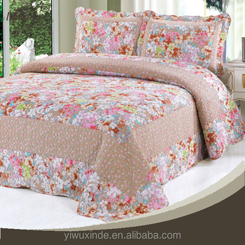 Wholesale Bed Sheet Fancy Designs Polyester Bedsheet From China