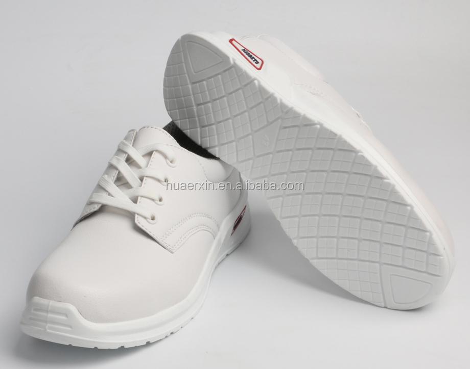 Bianco scarpe ortopediche mediche di cura infermiere antiscivolo