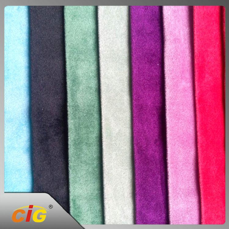 Competitive Price CE Approved crystal velvet fabric