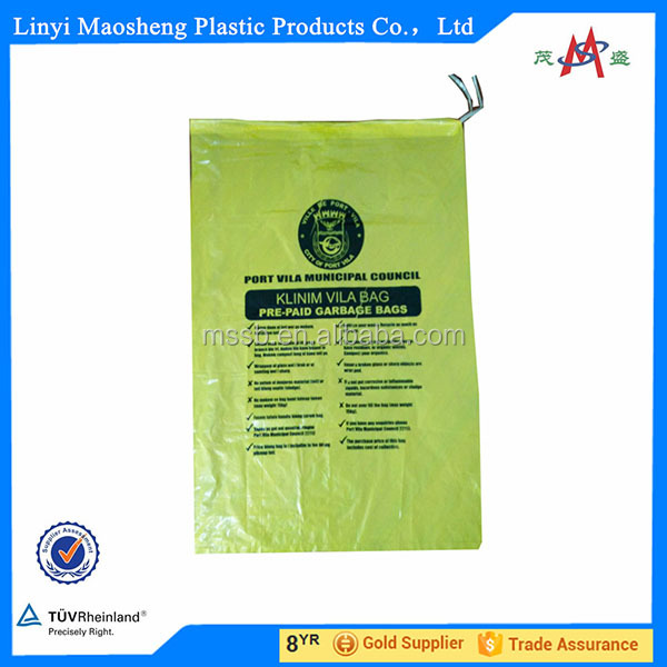 trash bag / pet garbage bag / eci garbage bags trash bags clear garbage bag drawstring garbage bag enjoy fast selling