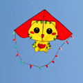 free shipping high quality CC cats kite with handle line ripstop nylon fabric kite weifang kite