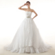 Sexy Deep V Neck Wedding Dress Bridal Gown 2018 Detachable Wedding Train HSDZ010