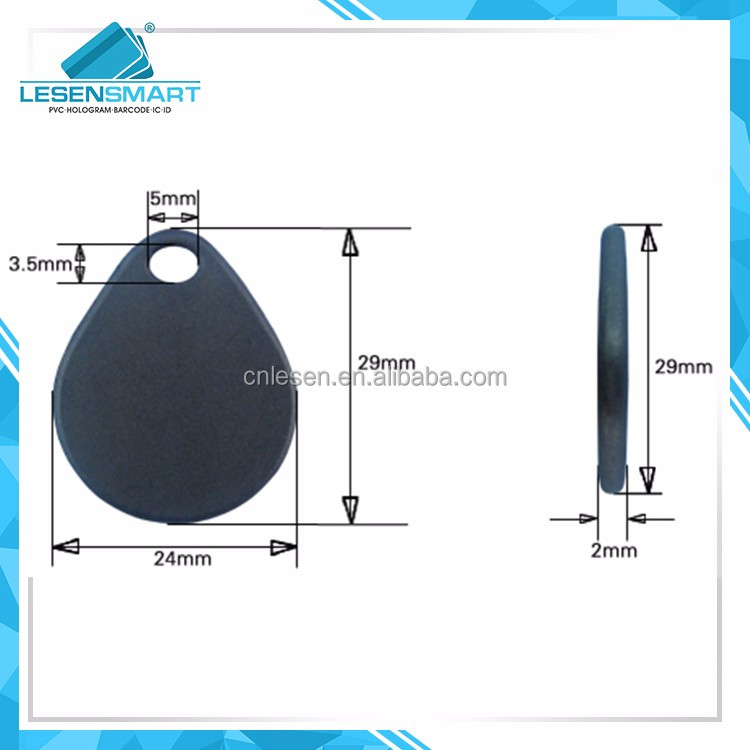 Small Waterproof Silicone Industrial UHF RFID Laundry Tag