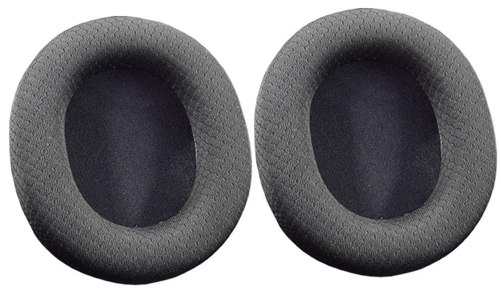 Replacement Black Cloth Earpad Ear Pads Cushion Cover for SteelSeries Arctis 3 5 7 Headphone Headsets