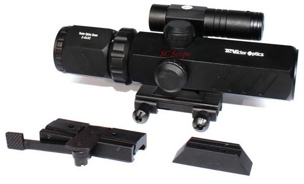 Entfernungsmesser Jagd Beleuchtet : Vektor optik brawn zielfernrohr jagd produkt mit roten